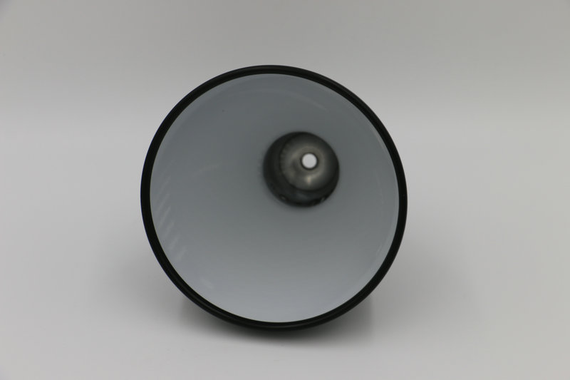 Black and white lampshade